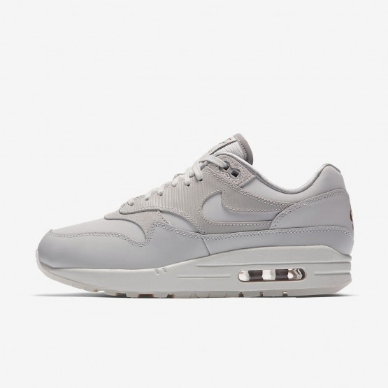 Nike Air Max 1 Premium Lifestyle Shoes Womens Vast Grey/Atmosphere Grey/Summit White 454746-017