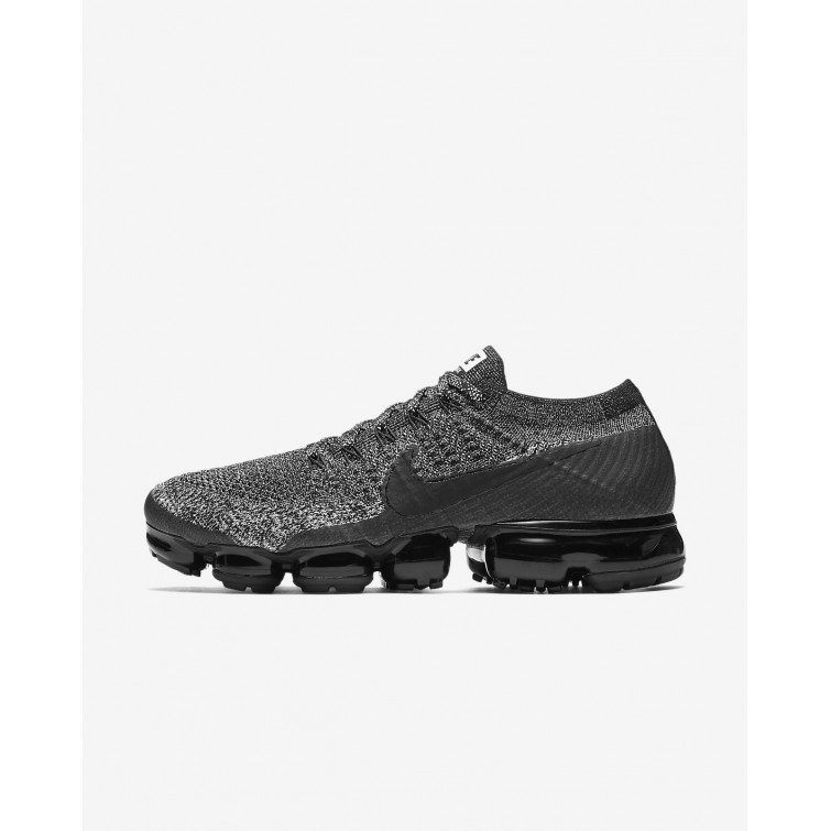 367a5acfaf2 Nike Air VaporMax Flyknit Running Shoes Mens Black White Racer Blue  849558-041