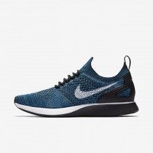 Nike Air Zoom Mariah Flyknit Racer Lifestyle Shoes Mens Green Abyss/Cirrus Blue/White/Black 918264-300