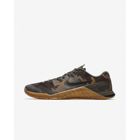 Nike Metcon 4 Training Shoes Mens Ridgerock/Elemental Gold/Gunsmoke/Black AH7453-207