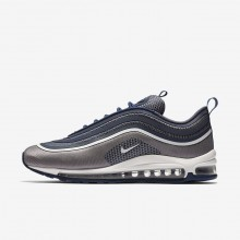 Nike Air Max 97 Lifestyle Shoes For Men Navy/Light Carbon/White 918356-402