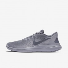 Nike Flex 2017 RN Running Shoes Womens Light Carbon/Provence Purple/Igloo 898476-012