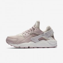 Nike Air Huarache Lifestyle Shoes For Women Vast Grey/Summit White/Particle Rose 634835-029