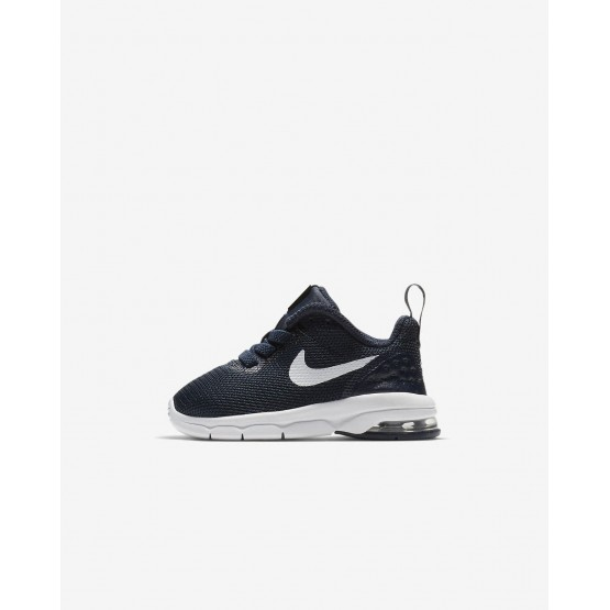 Nike Air Max Motion LW Lifestyle Shoes Boys Obsidian/White 917652-401