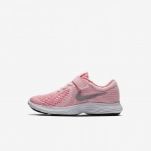 Nike Revolution 4 Running Shoes For Girls Arctic Punch/Sunset Pulse/White/Metallic Silver 943307-600
