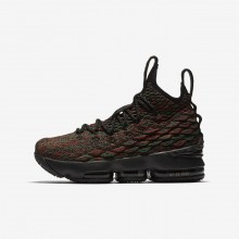 Nike LeBron 15 BHM Basketball Shoes Boys Multi-Color/Black 943762-900
