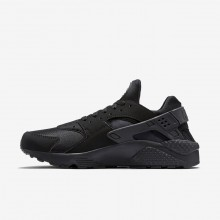 Nike Air Huarache Lifestyle Shoes Mens Black/Grey 318429-003