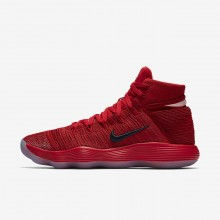 Nike React Hyperdunk 2017 Flyknit Basketball Shoes Womens University Red/Reflect Silver 917726-600