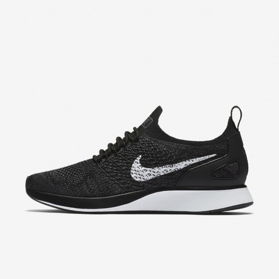 Chaussure Casual Nike Air Zoom Mariah Flyknit Racer Femme Noir/Grise Foncé/Blanche AA0521-006