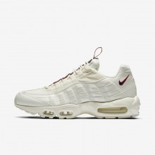 Nike Air Max 95 Lifestyle Shoes For Men Sail/Gym Red/Gym Blue AJ1844-101