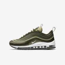 Nike Air Max 97 Ultra 17 Lifestyle Shoes Boys Cargo Khaki/River Rock/Neutral Olive/White 917998-300