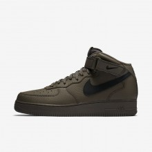 Nike Air Force 1 Mid 07 Casual Schoenen Heren Zwart 315123-205
