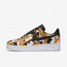 Nike Air Force 1 07 Low Camo Lifestyle Shoes Mens Team Orange/Circuit Orange/Light Orewood Brown/Black 823511-800