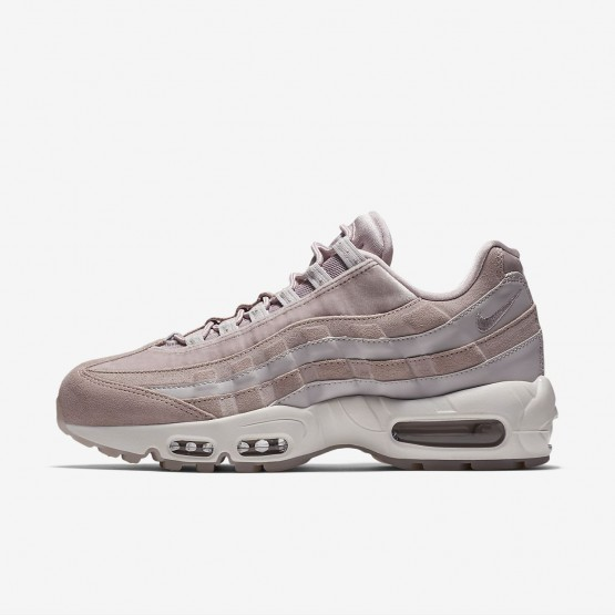 Chaussure Casual Nike Air Max 95 LX Femme Rose/Grise/Blanche AA1103-600