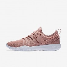 Nike Free TR Training Shoes For Women Rust Pink/White/Coral Stardust 904651-604