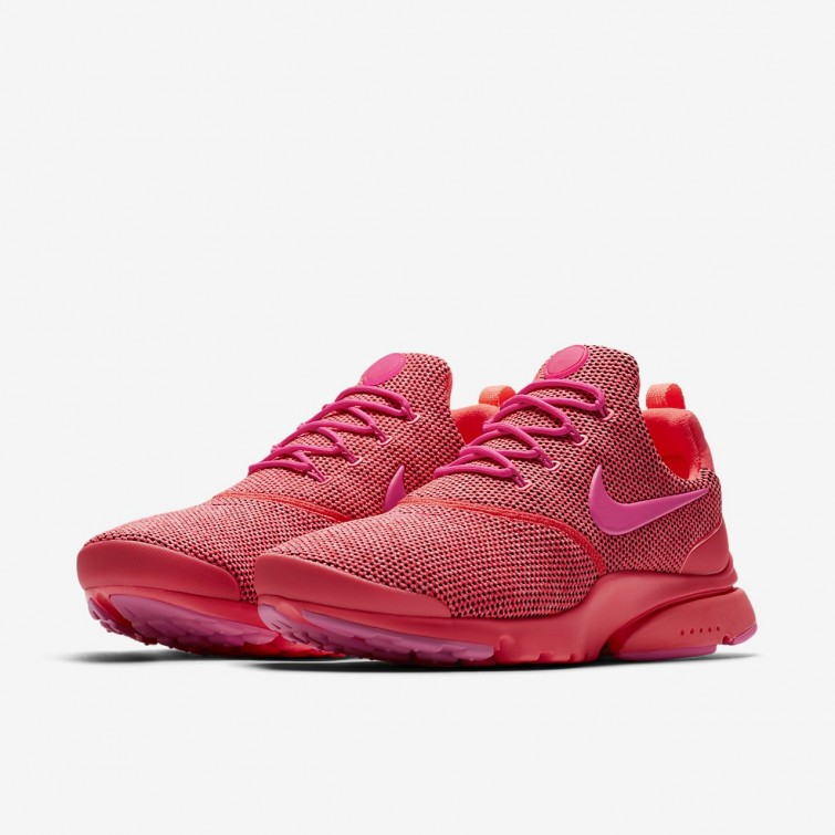 785ce11f9f1 ... Nike Presto Fly SE Lifestyle Shoes Womens Hot Punch Pink Blast 910570 -604