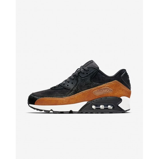 Nike Air Max 90 LX Lifestyle Shoes Womens Tar/Black/Cider 898512-005