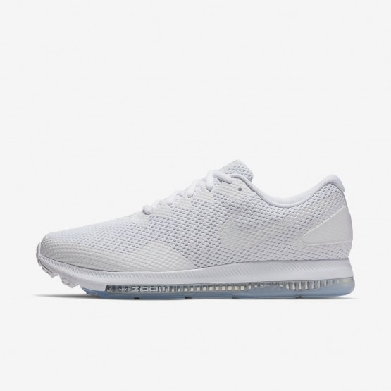 Nike Zoom All Out Low 2 Running Shoes Mens White/Off White AJ0035-100