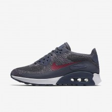 Nike Air Max 90 Lifestyle Shoes For Women Light Carbon/White/Fuchsia Glow/Pink Force 881109-005