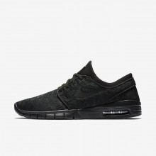 Nike SB Stefan Janoski Max Skateboarding Shoes Mens Black/Anthracite 631303-099