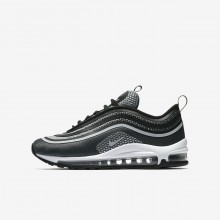 Nike Air Max 97 Ultra 17 Lifestyle Shoes Boys Black/Anthracite/White/Pure Platinum 917998-001
