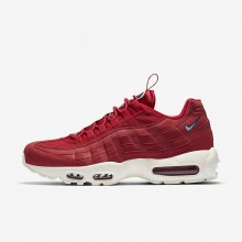 Nike Air Max 95 Lifestyle Shoes For Men Gym Red/Gym Blue/Sail AJ1844-600