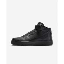 Nike Air Force 1 Mid 07 Casual Schoenen Heren Zwart 315123-001