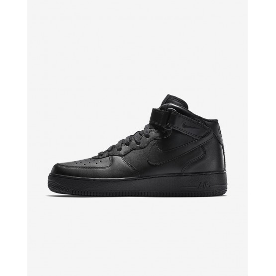 Nike Air Force 1 Mid 07 Lifestyle Shoes Mens Black 315123-001