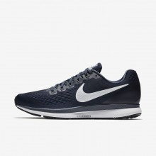 Nike Air Zoom Running Shoes For Men Obsidian/Thunder Blue/Black/White 880555-407