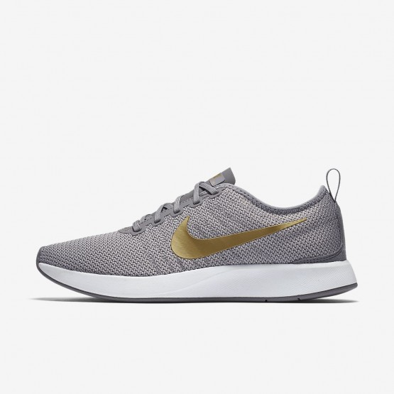 Nike Dualtone Racer SE Lifestyle Shoes Womens Gunsmoke/Atmosphere Grey/White/Metallic Gold 940418-006
