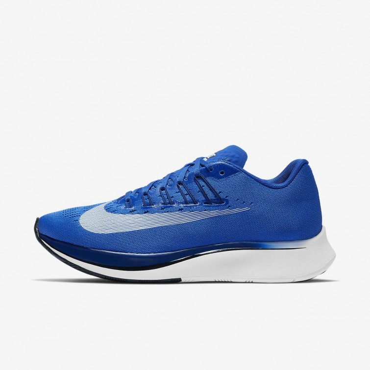 9a8ad87f28433 Nike Zoom Fly Running Shoes Womens Hyper Royal Deep Royal Blue Black White