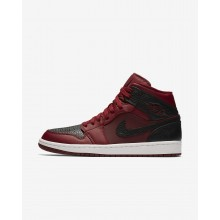 Nike Air Jordan 1 Lifestyle Shoes For Men Team Red/Summit White/Gym Red 554724-601