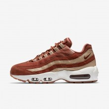 Nike Air Max 95 Lifestyle Shoes For Women Dusty Peach/Bio Beige/Summit White AA1103-201