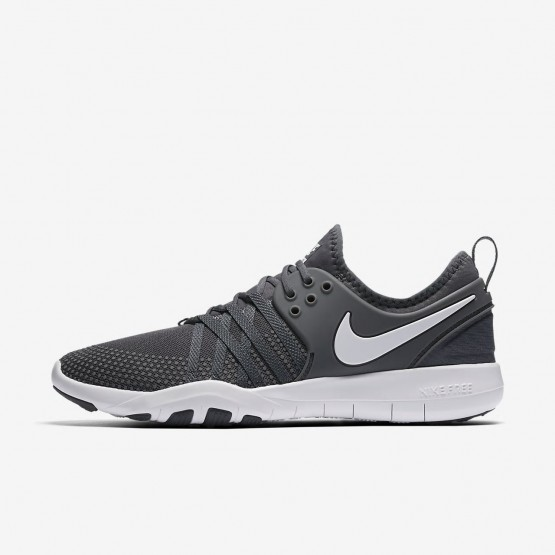 2c4c05e7c39 Nike Free TR7 Training Shoes Womens Dark Grey White 904651-002