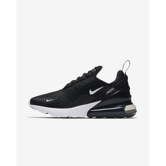 Nike Air Max 270 Lifestyle Shoes Womens Black/White/Anthracite AH6789-001