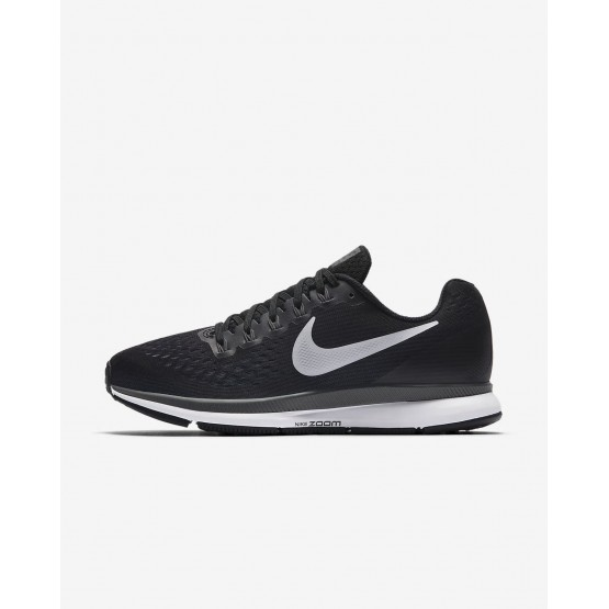Nike Air Zoom Pegasus 34 Running Shoes Womens Black/Dark Grey/Anthracite/White 880560-001