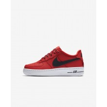 Nike Air Force 1 Lifestyle Shoes For Boys University Red/White/Black 820438-606