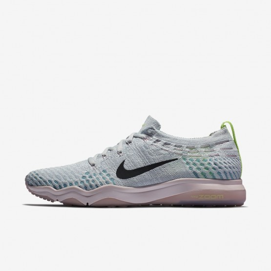 Nike Air Zoom Fearless Flyknit Lux Training Shoes Womens Pure Platinum/Barely Rose/Elemental Rose/Anthracite 922872-004