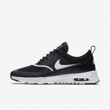 Nike Air Max Thea Lifestyle Shoes Womens Black/White 599409-028