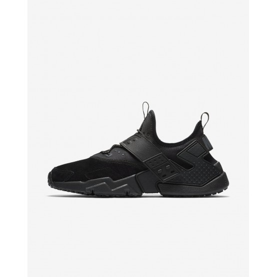 Nike Air Huarache Drift Premium Lifestyle Shoes Mens Black/White/Anthracite AH7335-001