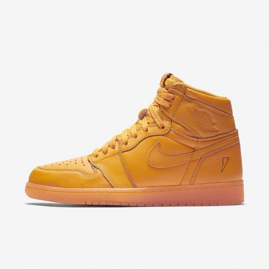 Nike Air Jordan 1 Lifestyle Shoes For Men Orange Peel AJ5997-880