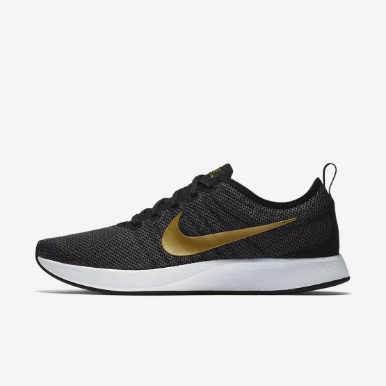 Nike Dualtone Racer SE Lifestyle Shoes Womens Black/Dark Grey/White/Metallic Gold 940418-005