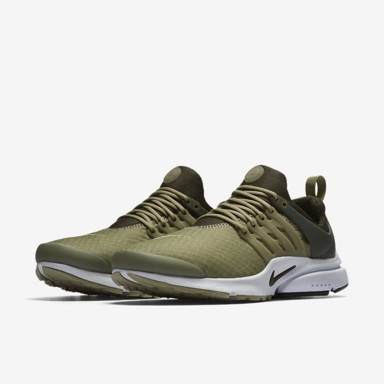 new concept 0ab90 a0c76 ... Nike Air Presto Essential Lifestyle Shoes Mens Neutral Olive Cargo  Khaki Black 848187-