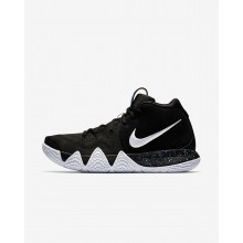 Nike Kyrie 4 Basketball Shoes For Men Black/Anthracite/Light Racer Blue/White 943806-002