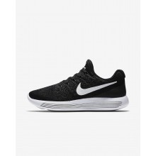 Nike LunarEpic Low Flyknit 2 Running Shoes Womens Black/Anthracite/White 863780-001