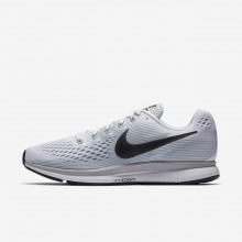 Nike Air Zoom Pegasus 34 Running Shoes Mens White/Pure Platinum/Wolf Grey/Anthracite 880555-103