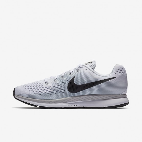 Nike Air Zoom Running Shoes For Men White/Pure Platinum/Wolf Grey/Anthracite 880555-103