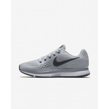 Nike Air Zoom Pegasus 34 Running Shoes Womens Pure Platinum/Cool Grey/Black/Anthracite 880560-010