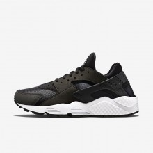 Nike Air Huarache Lifestyle Shoes Womens Black/White 634835-006