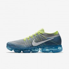 Nike Air VaporMax Running Shoes For Men Wolf Grey/Chlorine Blue/Photo Blue/White 849558-022